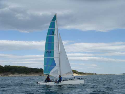 Nacra 6.0, 1997 sailboat
