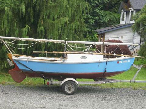 Nancy's China, 15', 1983 sailboat