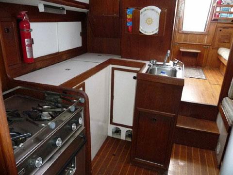 Nautilus, built on 37ft. C@C 1979 sailboat