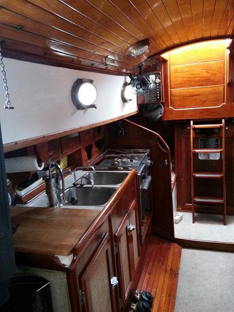 Nor'Sea 27, 1977 sailboat