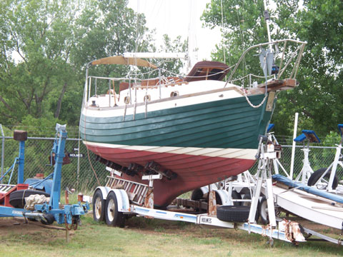 Nor-Sea 27, 1978 sailboat