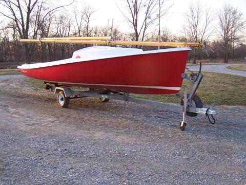 O'Day Daysailer II, 1973 sailboat
