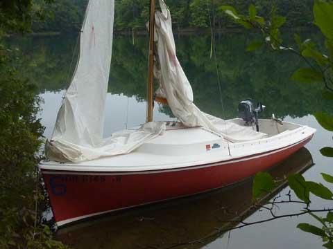Oday Daysailer II, 1974 sailboat