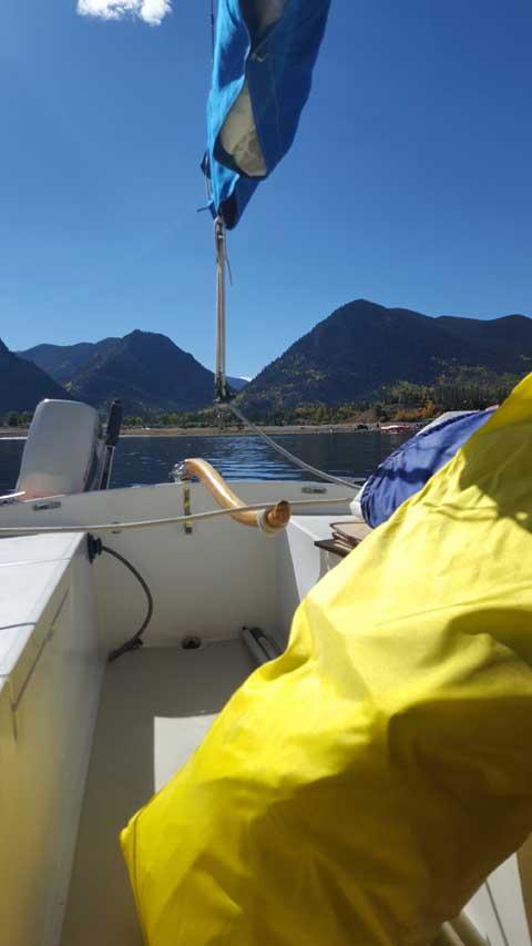 O'Day 22 sailboat