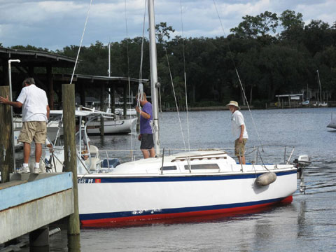 O'Day 23-2, 1978 sailboat