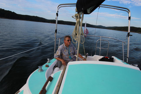 Oday 25, 1977 sailboat