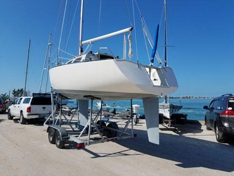 Olson 25, 1987 sailboat