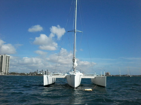 Open wing39101 sailboat