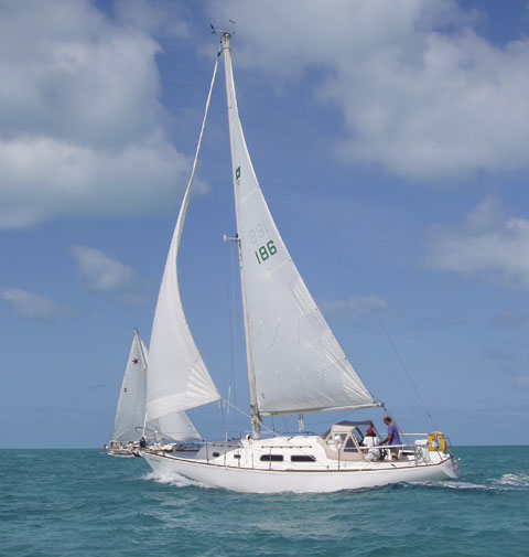 Pearson 33, 1972 sailboat