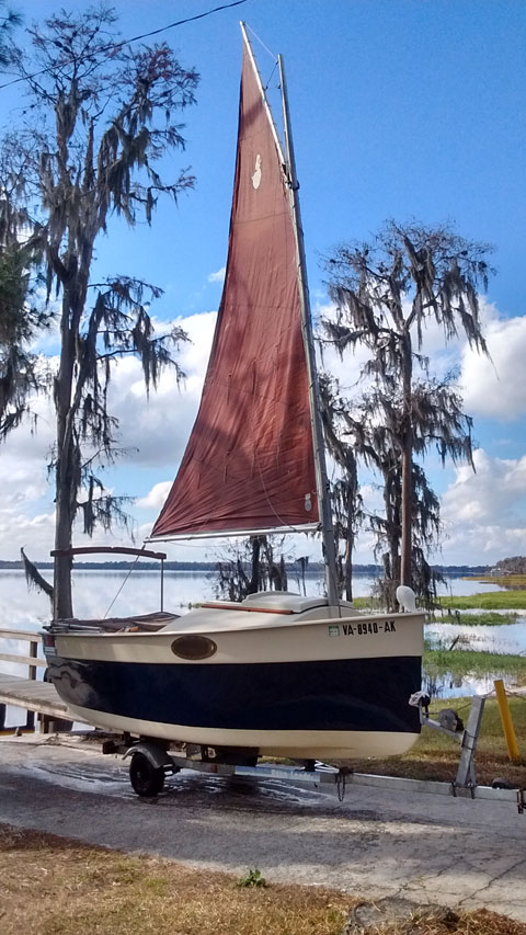 Florida Bay Peephen, 1988 sailboat