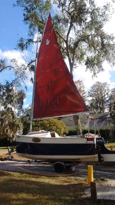 Florida Bay Peep Hen, 1988 sailboat