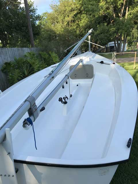 Precision 15, 2005 sailboat