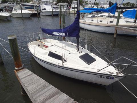 Precision 18, 1985 sailboat