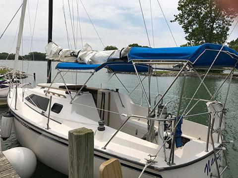 Precision 27, 1991 sailboat