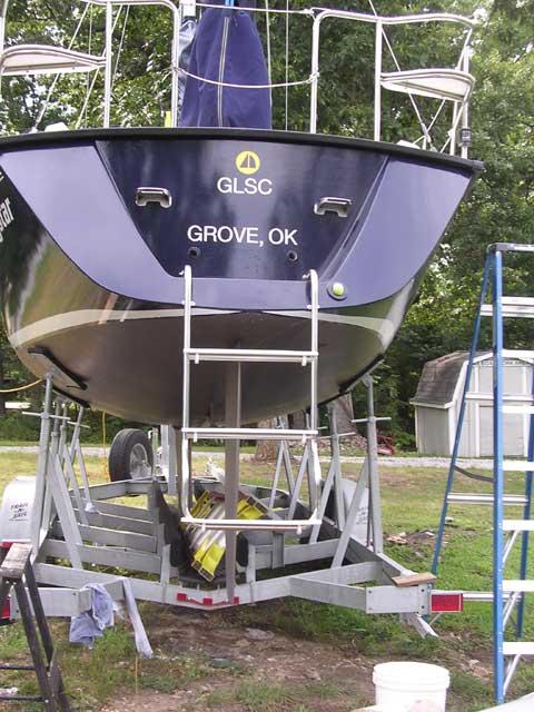 Precision 28, 2002 sailboat