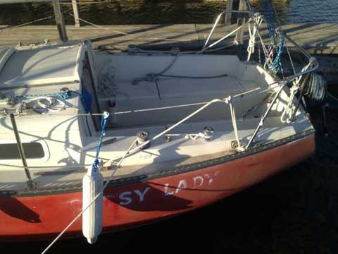 Ranger 24 ft, sailboat