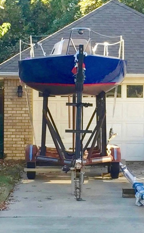 Regan 23, 1984 sailboat