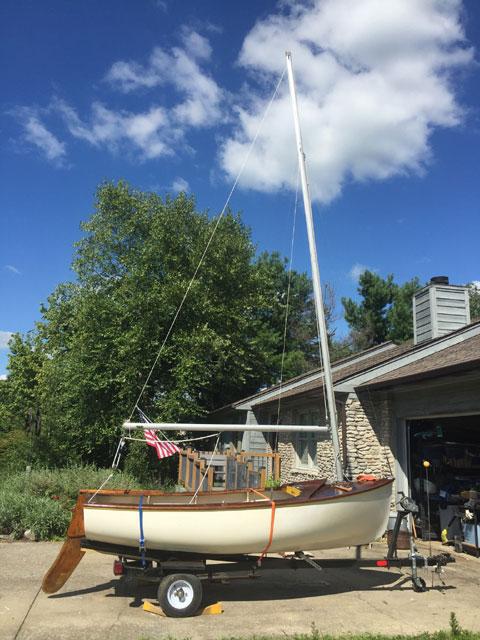 Rhodes Robin dinghy, 10'10