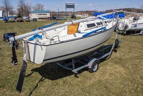 S2 22', 1987 sailboat