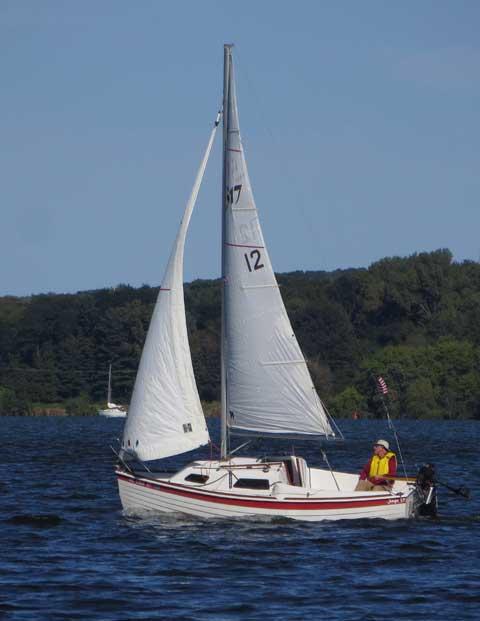 Sage 17, 2013 sailboat