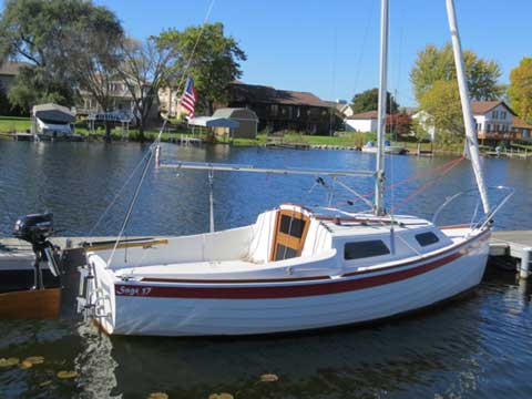 Sage 17 2013 Madison Wisconsin Sailboat For Sale From