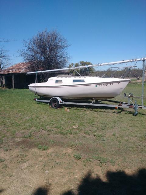 SAN JUAN 21 MK II, 1978 sailboat