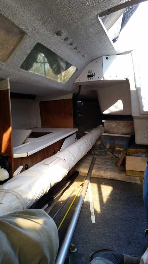 Santana 2023-A, 23 foot, 1994 sailboat