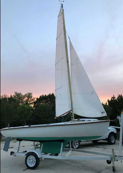 Schock 14, 1959 sailboat