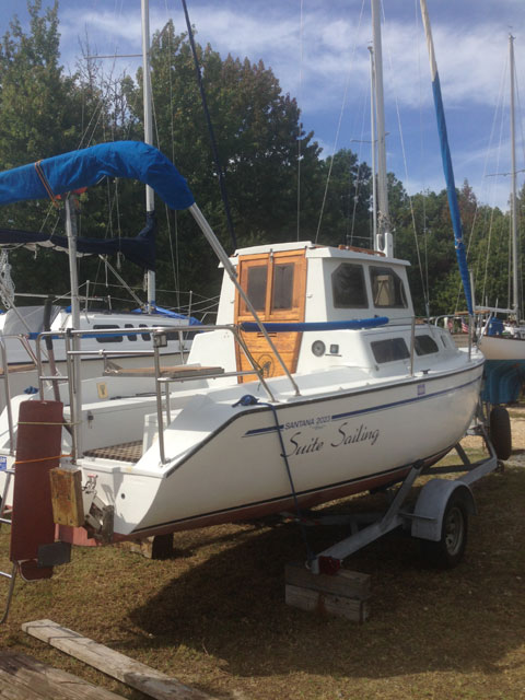 Schock 23, 1996 sailboat