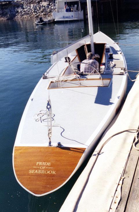 5.5 Meter Racing Yacht, 31.5', built by Seabrook Shipyard, 1962 sailboat