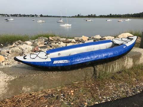 Sea Eagle 300x kayak sailboat