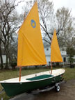 1987 Sea Pearl 21 sailboat