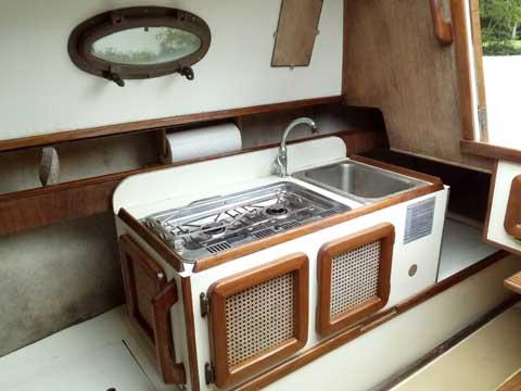 Sea Pearl Cat-Ketch 28 ft., 1991 sailboat
