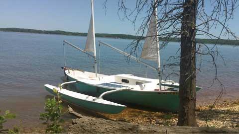Sea Pearl Trimaran 21', 1999 sailboat