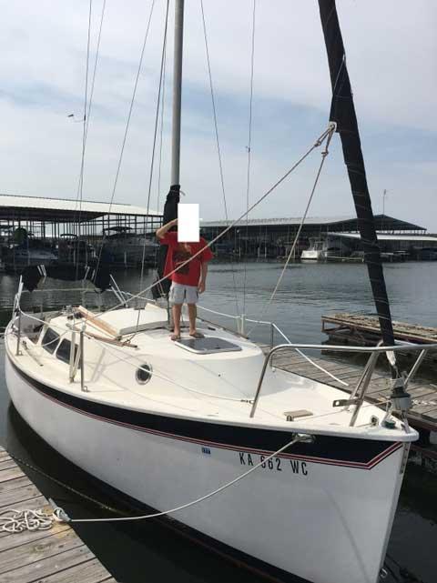 Seaward 24, 1984 sailboat