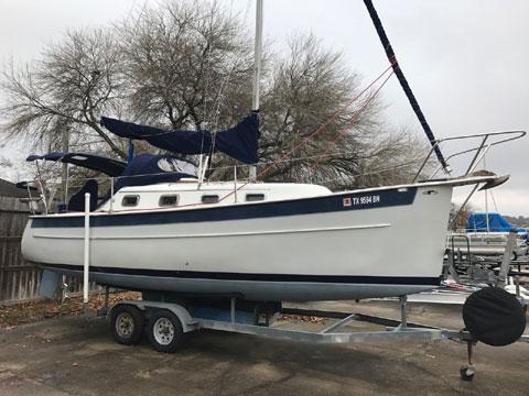 Hake Seaward 25, 1997 sailboat
