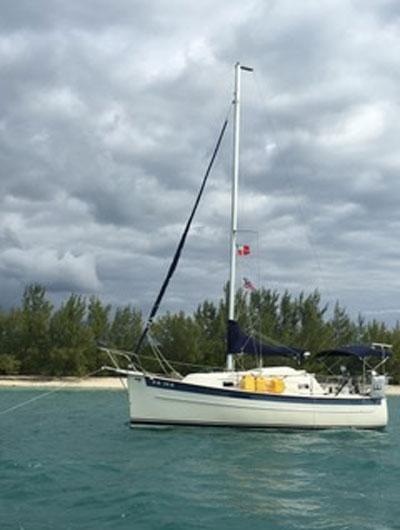 Seaward Hake 25, 26' 9