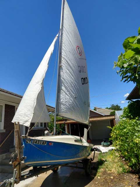 Sirocco Micro Cruiser, 15 ft.,  sailboat