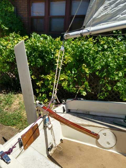 Sirocco Micro Cruiser, 15 ft.,  sailboat