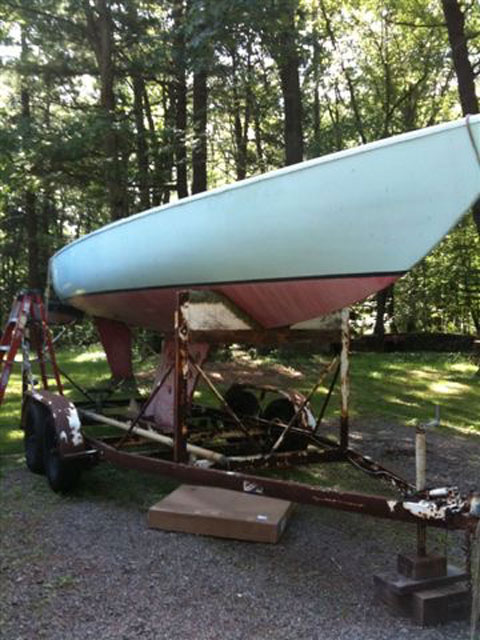 2 Abbott Solings, 26 ft., 1969 sailboat
