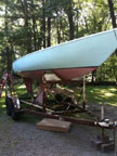 1969 Soling sailboat