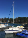1985 Sovereign 23 sailboat