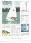 Spindrift Day Sailer 1, 1983 sailboat