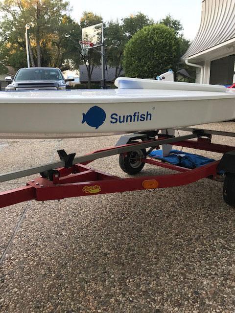 Sunfish, 2015 sailboat