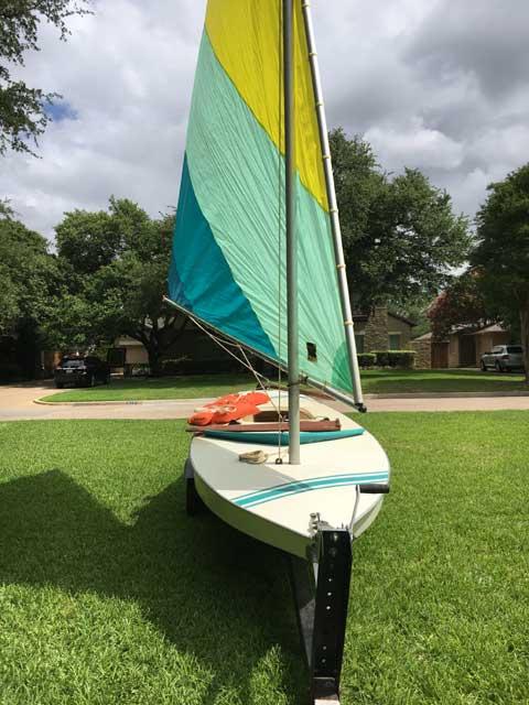 AMF Alcort Sunfish, 1979 sailboat