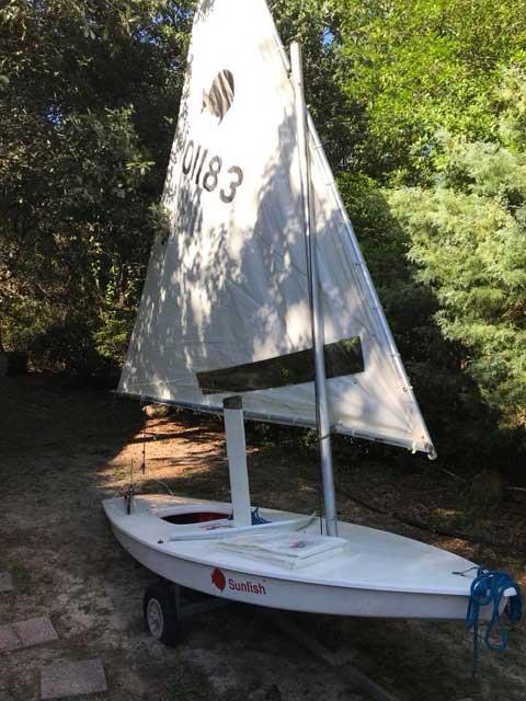 Sunfish, 2013 sailboat