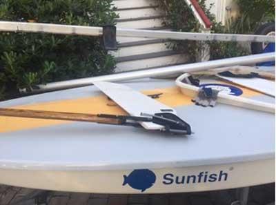 Sunfish 2006 sailboat