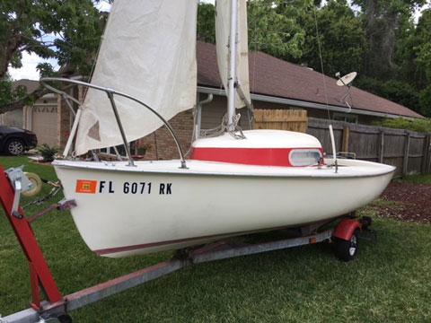 Tanzer 16, 1972 sailboat