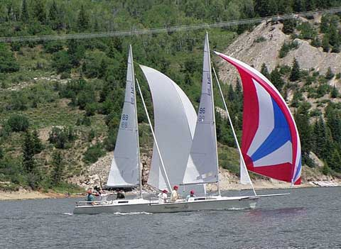 U20 sailboat, 20' sailboat