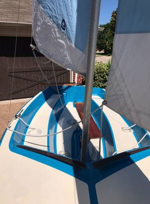Vagabond 14, 1983 sailboat
